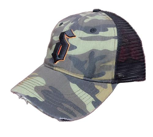 Camo mesh Trucker Hunting hat-BK8310-1