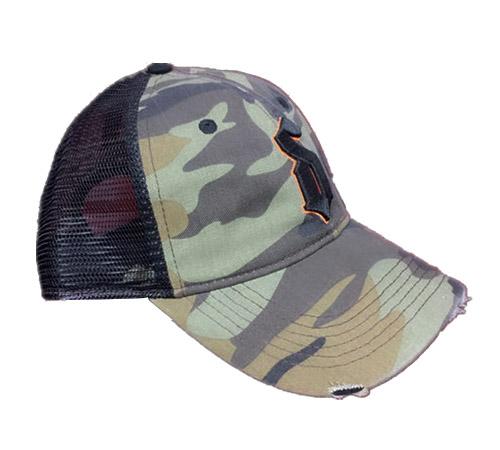 Camo mesh Trucker Hunting hat-BK8310A-1