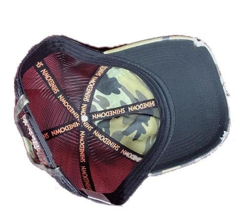 Camo mesh Trucker Hunting hat-BK8310C-1