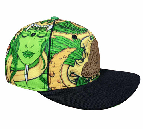 Polyester sublimation Snapback-BK8011E