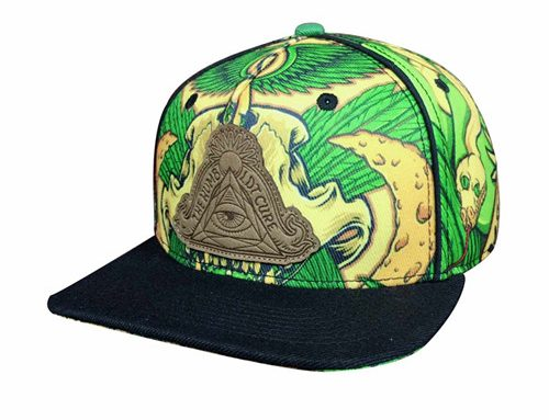 Polyester sublimation Snapback-BK8011
