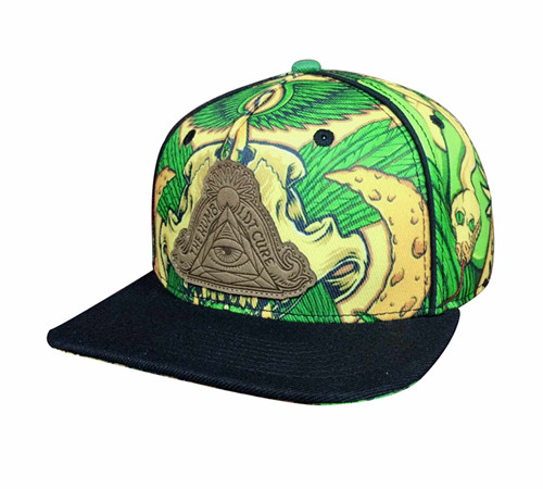 Polyester sublimation Snapback-BK8011H