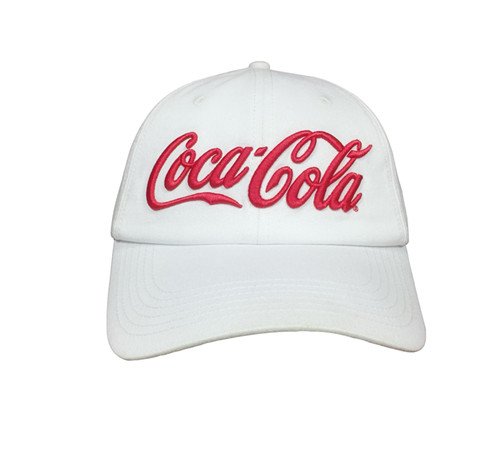 Unstructured white cotton 6 panels cap-BK8112E