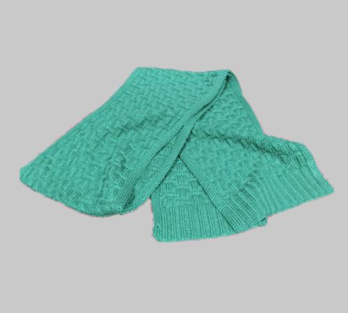 Custom logo acrylic knitting Scarf-BK8910A
