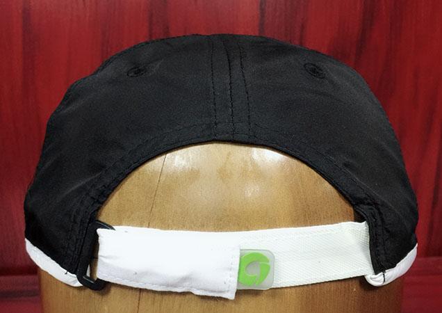Performance fabric outdoor sports running cap-BK8211E