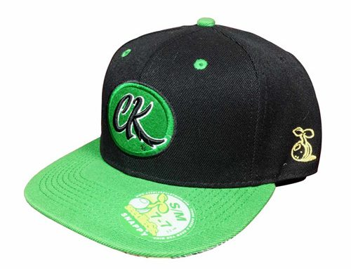 Polyester sublimation flat bill cap snapback-BK8011