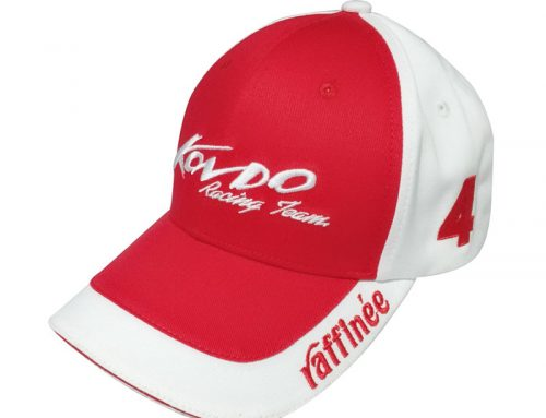 Top quality custom logo embroidery racing sports cap-BK8113