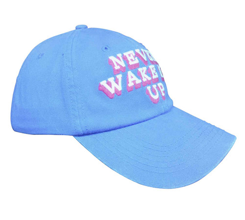 Unstructured cotton twill embroidery cap-BK8114G
