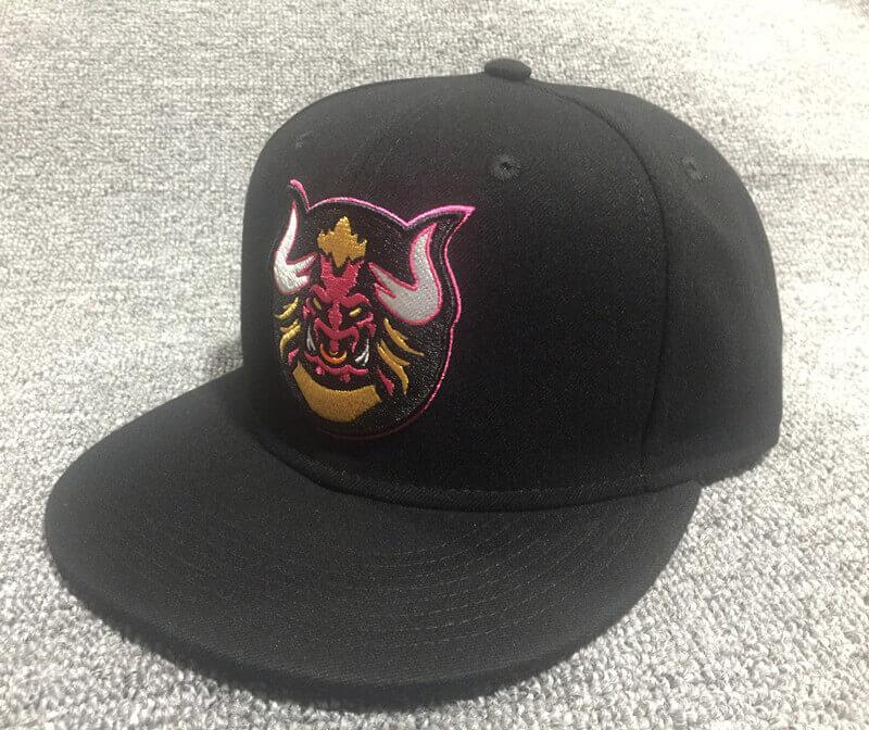 Acrylic embroidery snapback hat-BK8014J