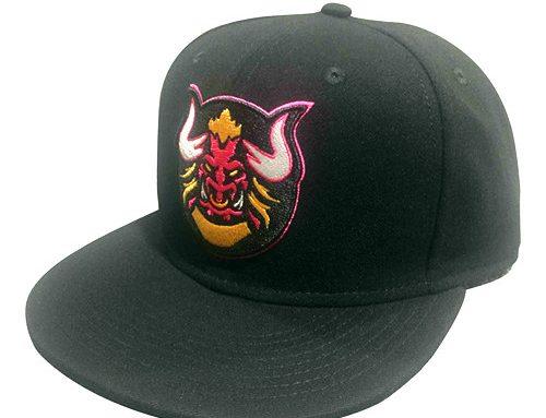 Acrylic embroidery snapback hat-BK8014
