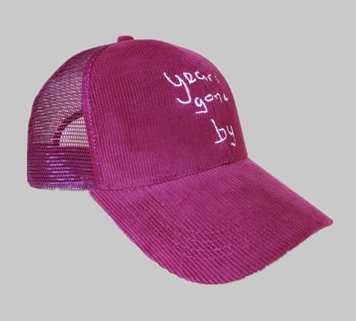 Corduroy Trucker Hunting hat-BK8311A