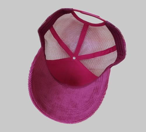Corduroy Trucker Hunting hat-BK8311C