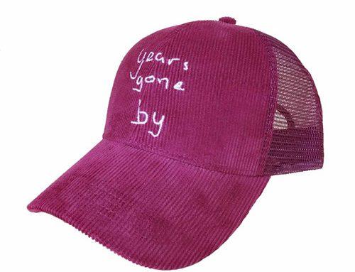 Corduroy Trucker Hunting hat-BK8311