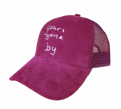 Corduroy Trucker Hunting hat-BK8311E