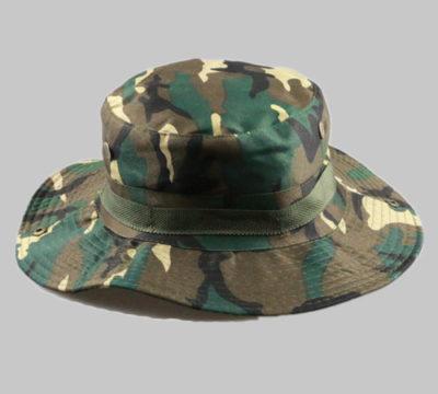 Fishing cotton bucket hat-BK8410 -D
