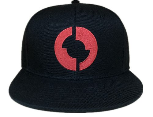 Flat embroidery logo printing taping snapback-BK8015