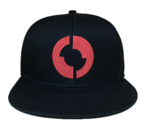 Flat embroidery logo printing taping snapback-BK8015A