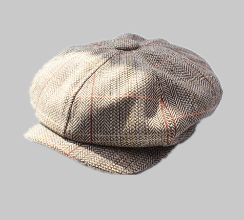 Herringbone Ivy Hat Scally cap IV8001C