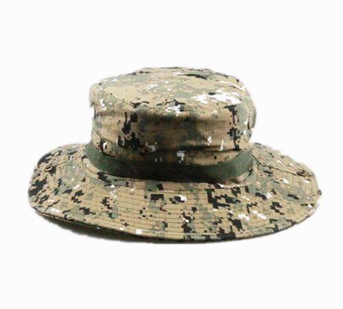 Cotton camouflage fishing hunting bucket hat-BK8412