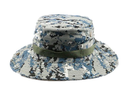 Cotton camouflage fishing hunting bucket hat-BK8412