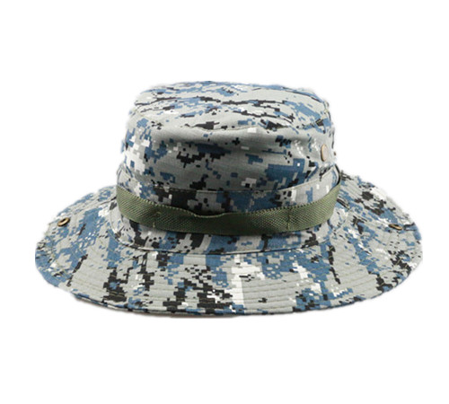 Cotton camouflage fishing hunting bucket hat-BK8412A