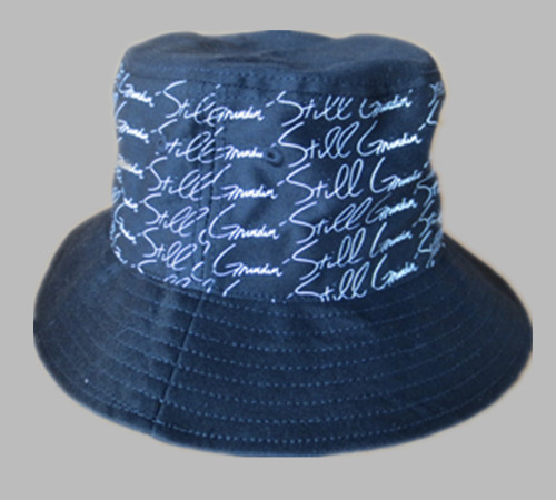 Cotton silk-screen printing fishing hunting bucket hat-BK8414