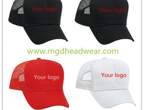 Custom High profile trucker hat
