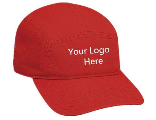 Custom cotton camper cap