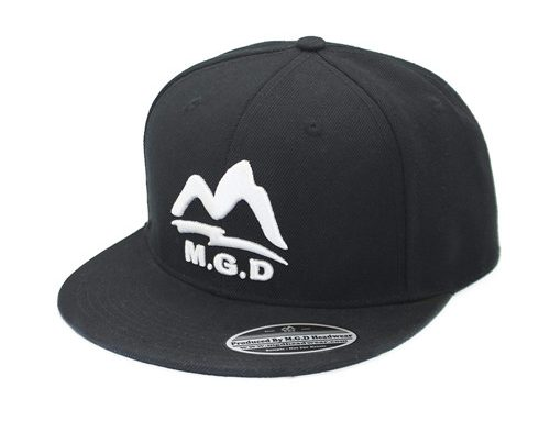 MGD 3D Embroidery Snapback Hat-BK8010