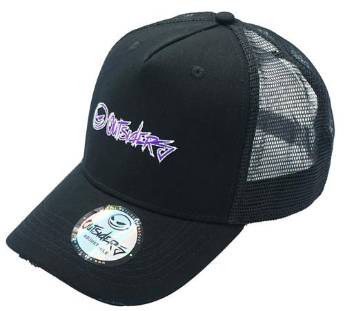 Cotton mesh Hunting fishing Trucker hat-BK8311D