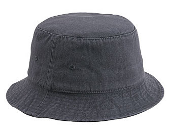 Custom cotton fishing bucket hat-1