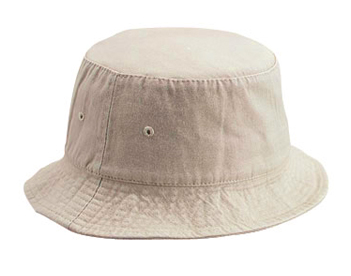 Custom cotton fishing bucket hat-3