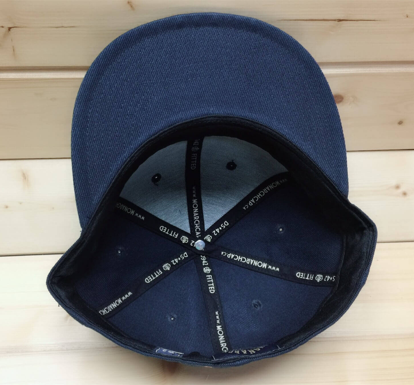 Wool blend fitted cap -BK8510B