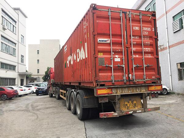 MGD shipment