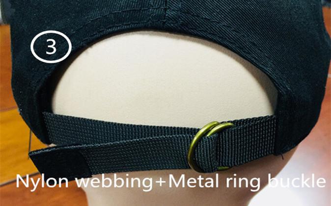 3 Metal ring buckle
