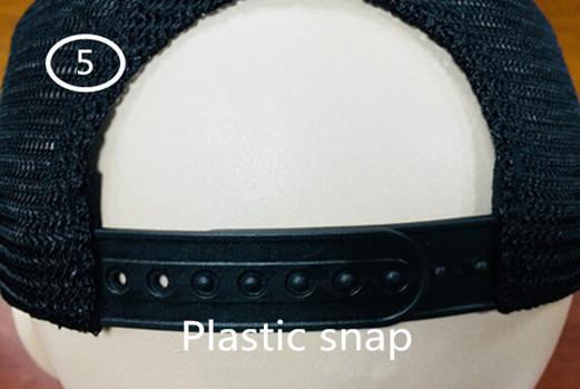 5 Plastic snap