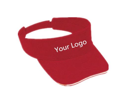 Custom cotton visor 1B