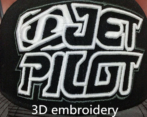 3D emboridery