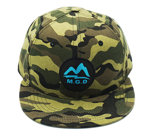 MGD Camo snapback hat -BK8016