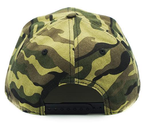 MGD Camo snapback hat -BK8016B
