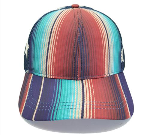 High ponytail baseball cap -BK8116G