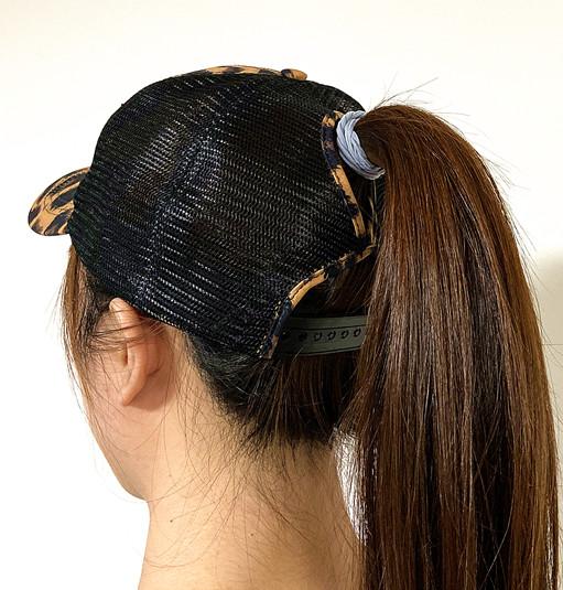 High ponytail baseball cap -BK8116J