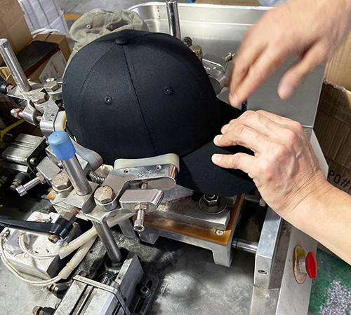 Steaming cap shape